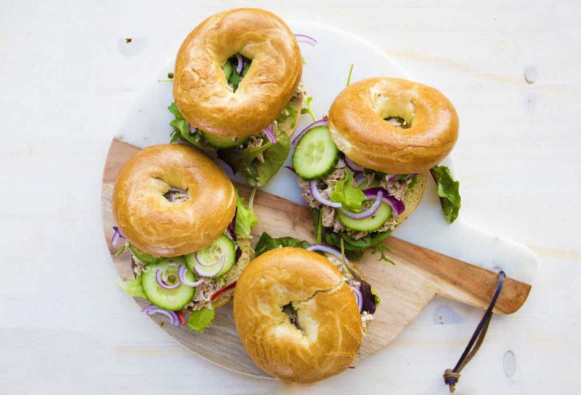 tonijn bagels